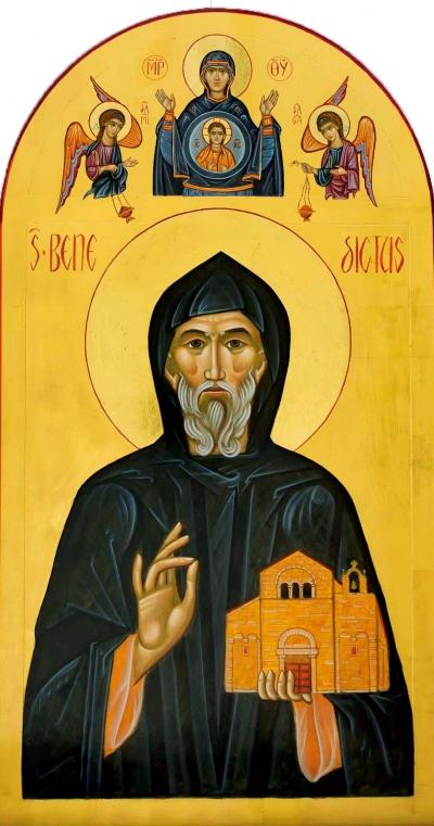 San Benedetto, Madre di Dio e Angeli