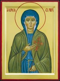 San Daniele profeta e Santa Chiara d'Assisi