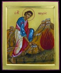Mose' al roveto ardente