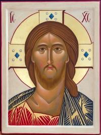 Cristo occhio ardente
