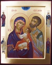 Sacra Famiglia e Santi di famiglia