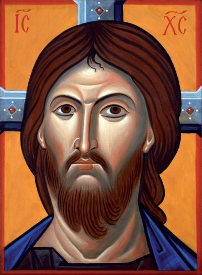 Pantocratore,Volto di Cristo comneno