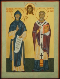 San Benedetto e san Martino di Tour